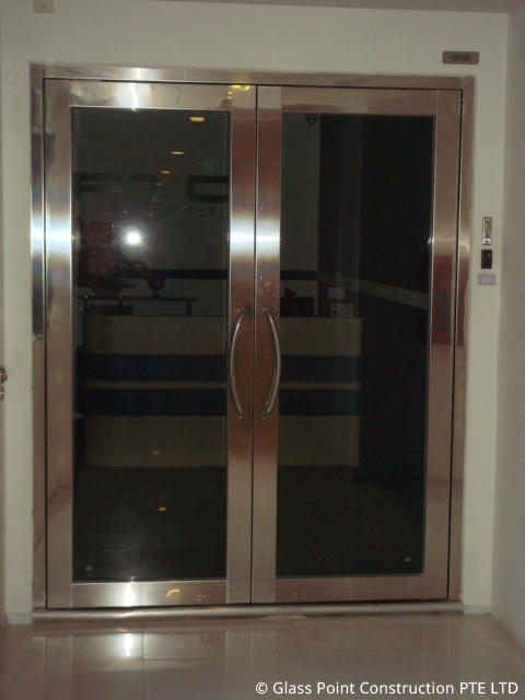 Fire rated glass door singapore picture for 1 hr fire rated door