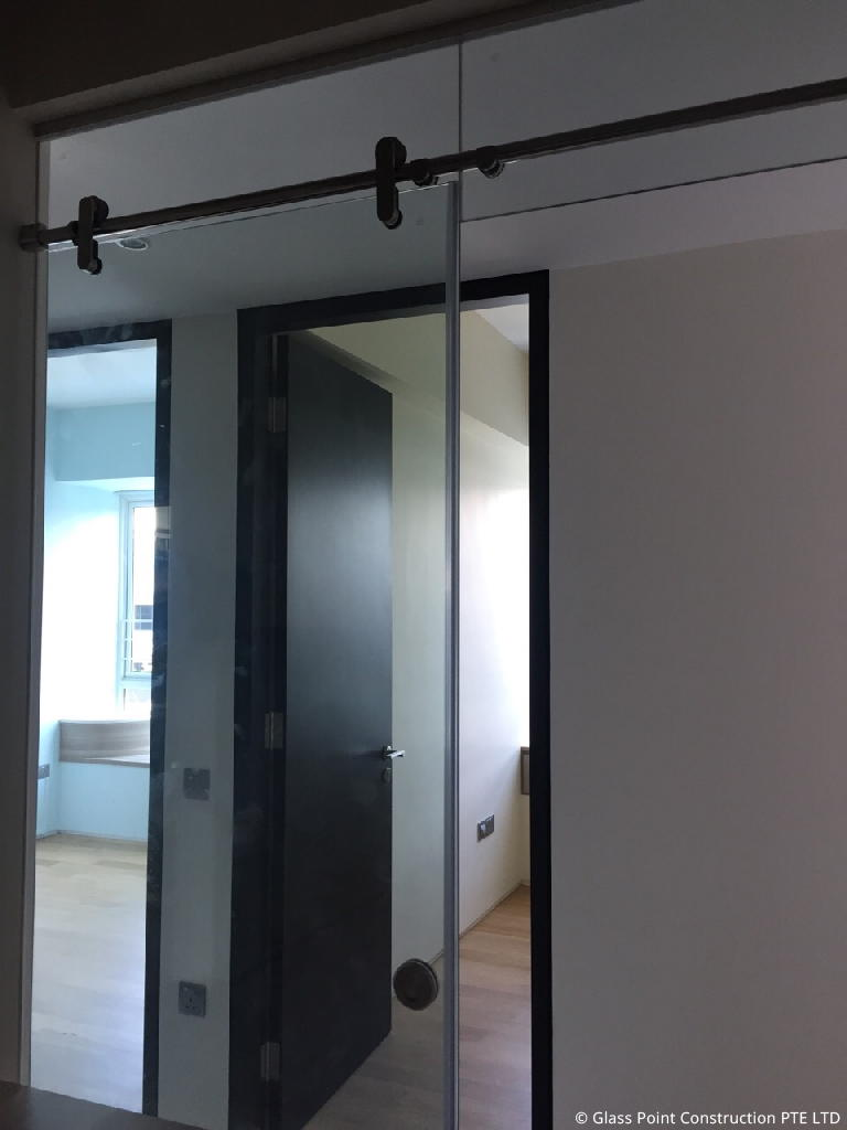 Sliding Door Glass Point Construction Pte Ltd