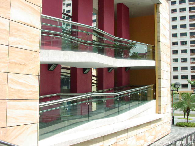 Glass Railing Glass Point Construction Pte Ltd