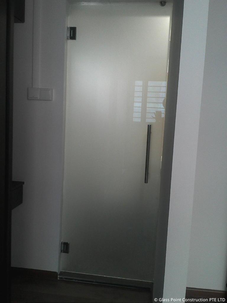 Swing Door Glass Point Construction Pte Ltd