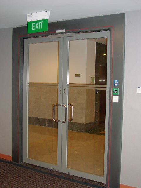 Fire Rated Glass Door Panel Glass Point Construction